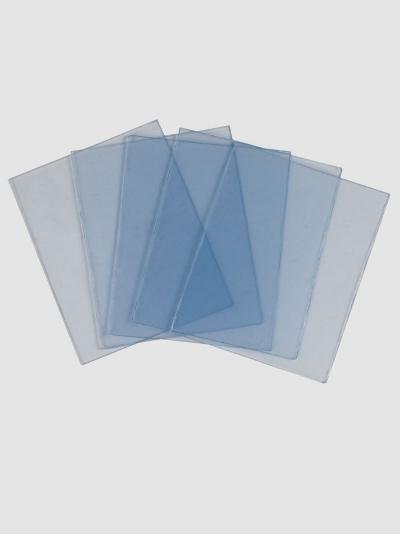 "Стекло защитное поликарбонатное к маске сварщика ""Профи"", 89х109 мм."