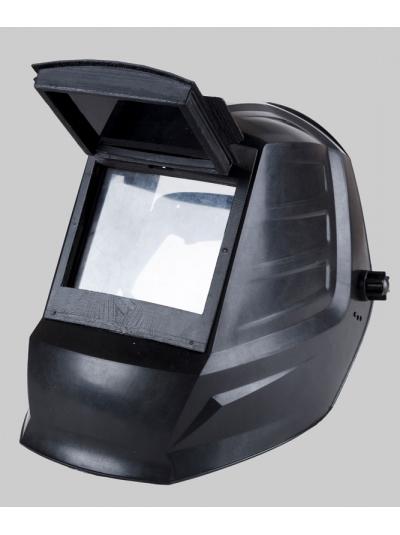 Маска сварщика с поднимающимся светофильтром.